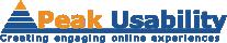 Peak Usability logo
